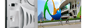 NBC Olympics will use the Leyard videowalls in the production of the Olympic Games in Rio