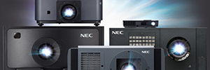 NEC Display bet by the SSL technology as its projectors lighting method