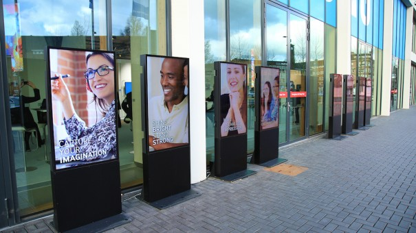 Samsung outdoor signage