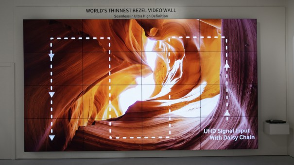 Samsung videowall marco ultrafino