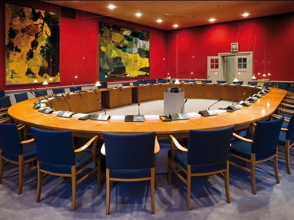 Shure conferencia sala reuniones