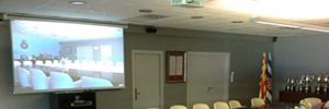 RCD Espanyol integrates in its boardroom a Polycom video conferencing system