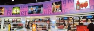 La Riviera Freeshop apuesta por las pantallas Led de Viewsonic para publicidad dinámica