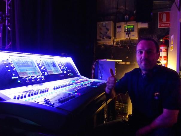 Allen-Heath dlive teatro de la luz philips Lexon Distribucion