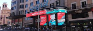 The platform Capitol Digital of Madrid starts the management business of their screens Led DooH