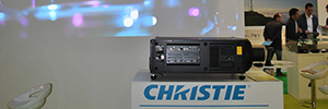 HS series projectors and screens Velvet Merit of Christie made their debut in Spain in 2016 BIT