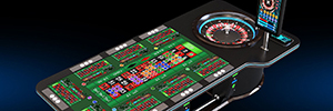 Zytronic technology PCT brings the virtual world to the roulette game