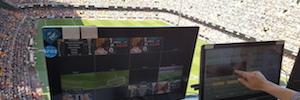 Valencia CF crea un sistema audiovisual en Mestalla para mejorar la experiencia del aficionado