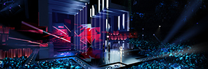 Osram back another year to Eurovision to assist in the spectacular light show