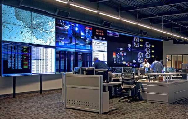 HP control room Planar Clarity VCS