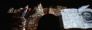 'Luz de Cervantes' recrea con una espectacular proyección 3D el universo literario del escritor