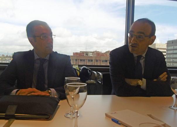 Jose Maria Garcia y Alessandro Cattani de Esprinet