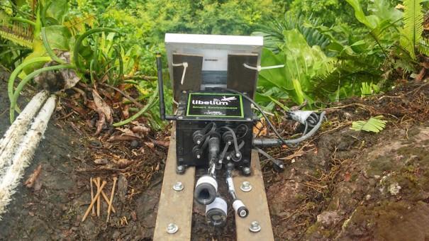 Libelium RFID Radical Solutios Parque Peru