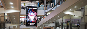 NanoLumens strengthens its presence in Australia with the installation of a large Led screen