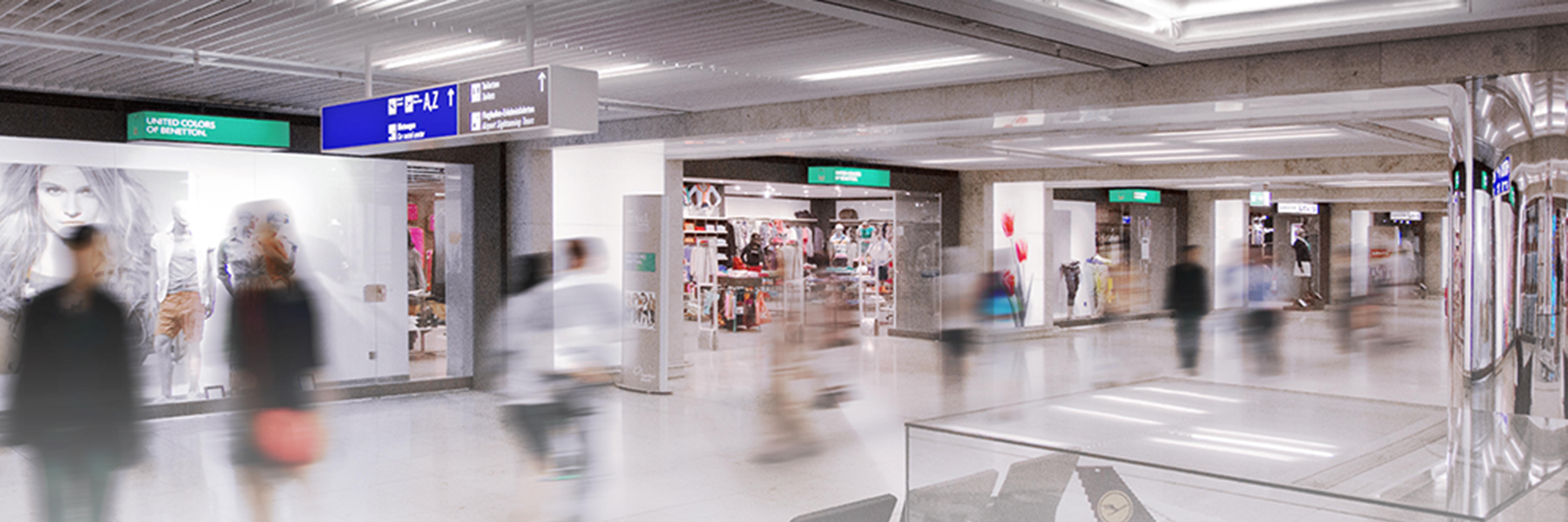 El digital signage llega al aeropuerto de Frankfurt para facilitar el viaje a los pasajeros