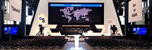 Banco Sabadell celebra su Junta de Accionistas apoyado por la tecnología audiovisual