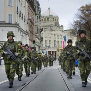 Sony Fuerzas Armadas suecas