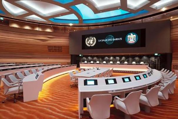 BGL Sala Emirato Palacio ONU Ginebra
