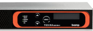 Biamp TesiraLUX: 4K60 video distribution in real time across networks AVB / TSN