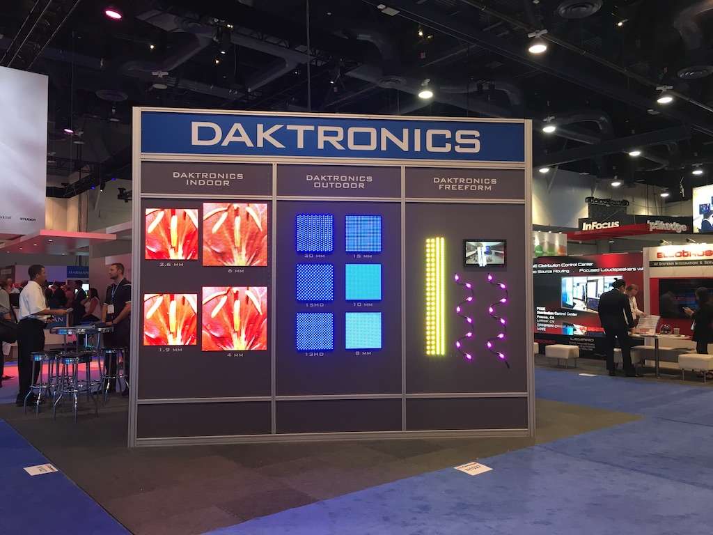 HDR Displays and control 4K systems focus Daktronics