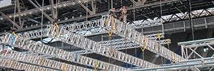 EES enseñará a utilizar de forma segura los sistemas de truss en su Prolyte Campus