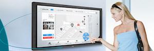 NEC Display ofrece hasta doce puntos táctiles en sus pantallas interactivas con tecnología ShadowSense