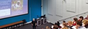 La Universidad de Sheffield aplica proyección y visualización para la enseñanza multidisciplinar