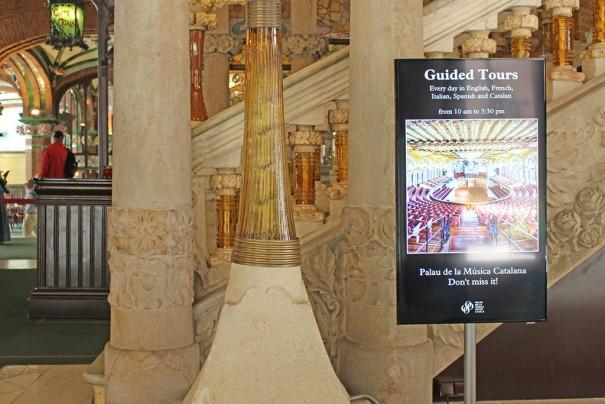 Samsung Poster Digital Charmex Palau Musica Catalana