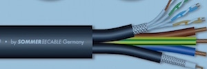 Transit MC 1031: cable polivalente de vídeo, corriente y red para aplicaciones profesionales AV