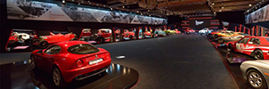 Alfa Romeo's historic museum exhibitions enhances its solutions Work Pro and Pro Mark