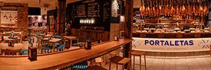 Work Pro se integra en el vanguardista local gastronómico mesón Portaletas