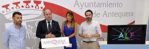 Antequera Light Fest busca convertir la ciudad en el referente de los festivales de videomapping españoles