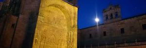 Los proyectores Christie Boxer dotaron de luz y color al convento de San Esteban de Salamanca