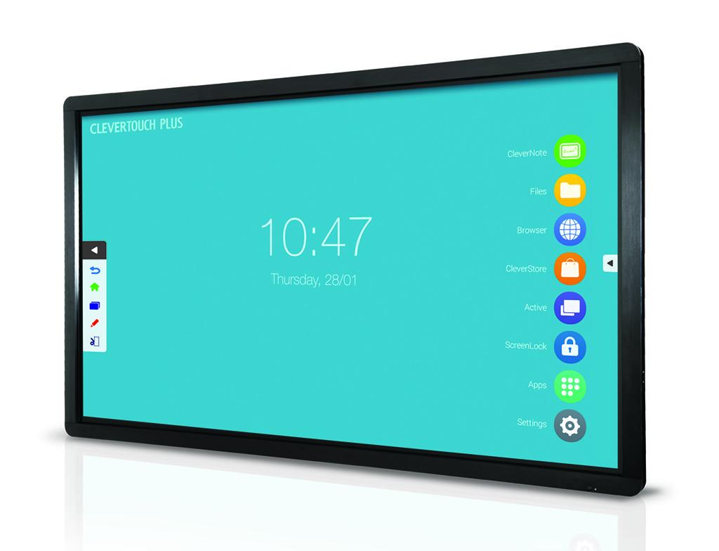 Clevertouch Plus Lux: monitores táctiles de gran formato para el ...