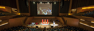 Eikonos provided the audiovisual equipment for the delivery of the Marketing Leaders Awards