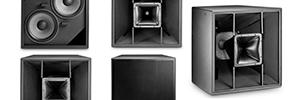 JBL Professional PD500: cajas acústicas para grandes proyectos de sonorización