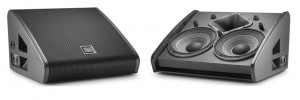 JBL VTX M: stage monitors for demanding applications and maximum power