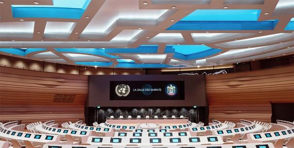 Leyard en Sala Emiratos ONU