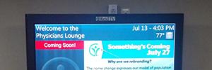 Reid Health amplía su plataforma de comunicación interna gracias al digital signage