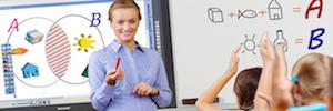 """Sharp PN-VC651B: pantalla interactiva de 65"""" para trabajo en grupo en aulas y empresas"""