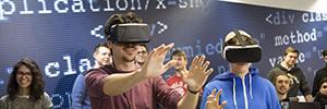 Un simulador de realidad virtual de U-tad ayuda a superarse a las personas con síndrome de Asperger