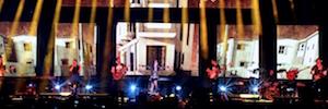 WIcreations automatiza el escenario de la gira 'Caos' de Malú