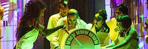 Los altavoces de fuente puntual V7P de d&b debutan en Rocky Horror Show