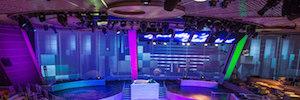 Royal Caribbean apuesta de nuevo por la iluminación y pantallas Led de Elation
