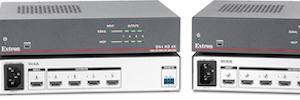 Extron DSC HD‑HD 4K Plus A y xi: escaladores de alto rendimiento HDMI con audio embebido