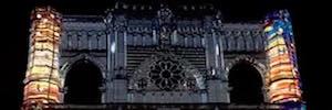La Catedral de Cuenca y su exposición muestran su esplendor con la tecnología de mapping