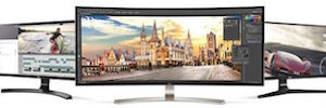 LG Debuts at IFA 2016 their new curved monitors IPS - 4K up to 38 inches
