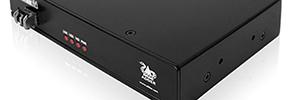 Extensor AdderLink XD150FX de vídeo DVI con USB 2.0 sobre cable de fibra dúplex LC
