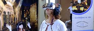 La Alcazaba ofrece una visita virtual a la luz de la luna con gafas AR