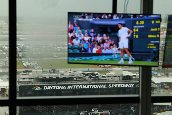 Daytona International Speedway completes your project Rising